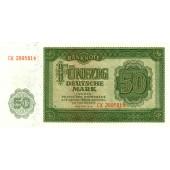 DDR: 50 DEUTSCHE MARK 1948  Ro.345b  I