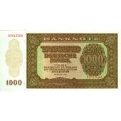 DDR: 1000 DEUTSCHE MARK 1948  Ro.347  I  selten!