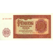 DDR: 50 DEUTSCHE MARK 1955  Ro.352a  I-