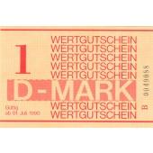DDR: Gefängnisgeld  Serie B  1 DM  1990  I