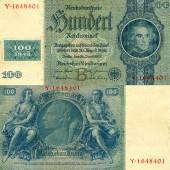 DDR: 100 DEUTSCHE MARK 1948  Kuponausgabe  Ro.338b  II+
