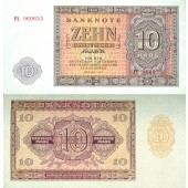 DDR: 10 DEUTSCHE MARK 1955  Ro.350a  I