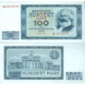 DDR: 100 MARK 1964  Ro.358a  I-