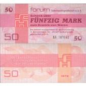 DDR: Forum-Scheck 50 MARK 1979  Ro.371a  I