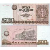 DDR: 500 MARK 1985  Ro.365a  I-
