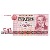 DDR: 50 MARK 1971  Ro.360d  Ersatznote  I