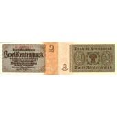 2 RENTENMARK 1937  Ro.167a  II+  selten