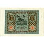 100 MARK 1920  Ro.67a  I