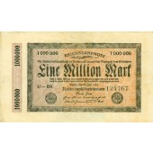 1 MILLION MARK 1923  Ro.93  II-III