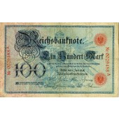 100 MARK 1898  Ro.17  III