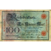 100 MARK 1905  Ro.23a  III