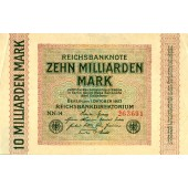 10.000.000.000 MARK 1923  Ro.114c  III+