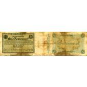 1 RENTENMARK 1923  Ro.154a  IV