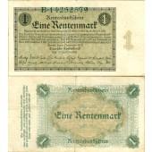 1 RENTENMARK 1923  Ro.154a  III