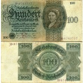 100 REICHSMARK 1924  Ro.171  IV+