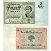 5 RENTENMARK 1926  Ro.164b  III