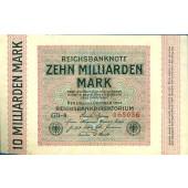10 MILLIARDEN MARK 1923  Ro.114a  II