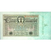 1 MILLIARDEN MARK 1923  Ro.111a  I-