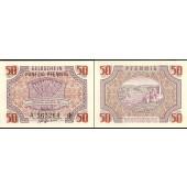 Rheinland Pfalz 50 PFENNIG 1947  Ro.213  I  selten!
