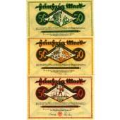 Lot: Notgeld Serienscheine 3x DORTMUND  II  [1922]