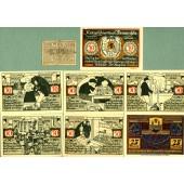 Lot: Notgeld Serienscheine 8x WEISSENFELS  I-  [1921]