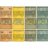 Lot: Notgeld Serienscheine 12x HAMELN  I-  [1921]