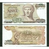 Griechenland: 1000 Drachmen 1987  I-