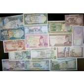 Lot: ASIEN / ASIA  Arabia Mix  16x Banknote  I