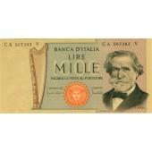 ITALIEN / ITALIA 1000 Lire 1969  I-