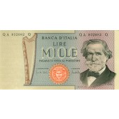 ITALIEN / ITALIA 1000 Lire 1971  I-