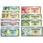 Lot: JUGOSLAWIEN / YUGOSLAVIA  11x Banknote  I  [1968-1986]