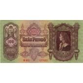 UNGARN / HUNGARY  100 Pengö 1930  I