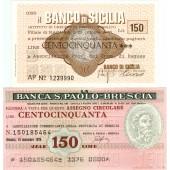 Lot: ITALIEN / ITALIA  2x Banknote Provinz  I  1976