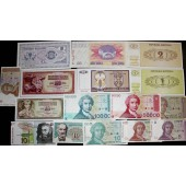 Lot: JUGOSLAWIEN / YUGOSLAVIA Mix  16x Banknote  I  [1978-1994]
