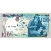 PORTUGAL  100 Escudos 1981 #178b  I
