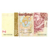 PORTUGAL  500 Escudos 1997 #187a  I