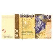 PORTUGAL  1000 Escudos 2000 #188d  I