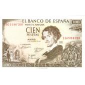 SPANIEN  100 Pesetas 1965 #150  I