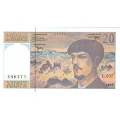 FRANKREICH  20 Francs 1997 #151i  I