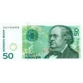NORWEGEN 50 Kroner 2005 #46c  I