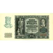 POLEN / POLAND deutsche Besatzung  20 Zloty 1940  I-II