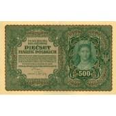 POLEN / POLAND  500 Marek 1919  II