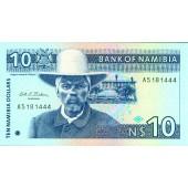 NAMIBIA 10 Dollars 1993  I