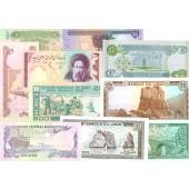 Lot: ASIEN / ASIA  Vorderasien Mix  10x Banknote  I  [1982-2003]