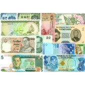 Lot: ASIEN / ASIA  Mix 12x Banknote  I  [1955-2003]