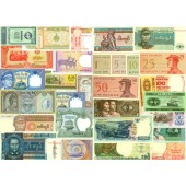 Lot: ASIEN / ASIA  Mix  30x Banknote  I  [1971-2002]