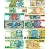Lot: BRASILIEN / BRASIL  14x Banknote  I  [1958-1990]