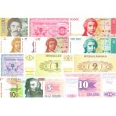 Lot: EUROPA  ehem. Jugoslawien Mix  13x Banknote  I  [1991-2006]