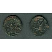 JUSTIN II.  Follis  [573-574]