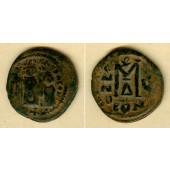 HERACLIUS  Follis  s-ss/ss  [614-615]